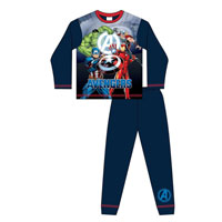 Official Older Boys Avengers Pyjamas