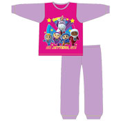 Girls Toddler Go Jetters Snuggle Fit Pyjama