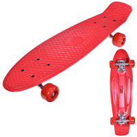 Retro Skateboard Red