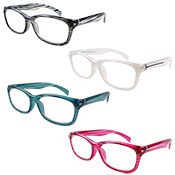 Two Tone Reading Glasses Assorted