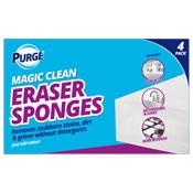 Magic Cleaning Eraser Sponges 4 Pack