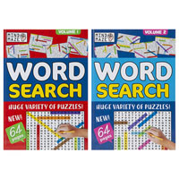 A4 Bumper Word Search Puzzle Book