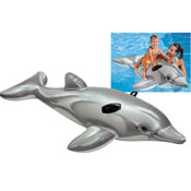 Inflatable Dolphin Ride On With Handles