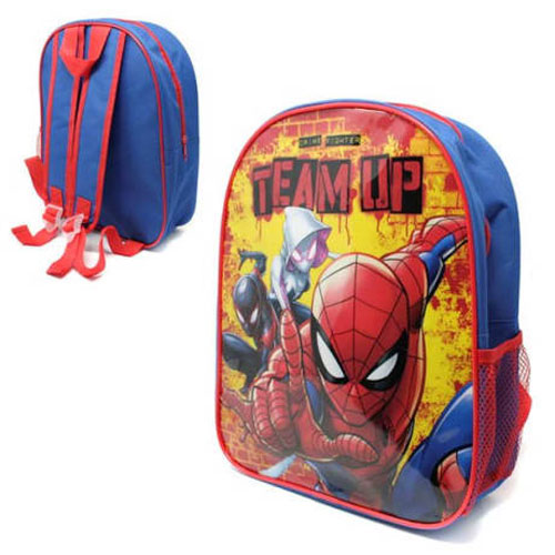 Official Spiderman Team Up 31cm Junior Backpack