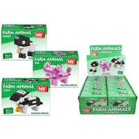 Farm Animals Bricks Sets