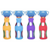 Squeaky Cola Bottle Dog Toy 4 Assorted