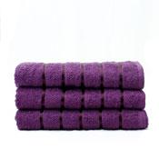 Luxury Egyptian Cotton Bath Towel Purple