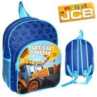 Official Joey JCB Nursery Backpack With Pocket Blue