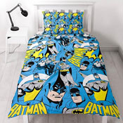 Batman DC Comics Hero Reversible Duvet Single