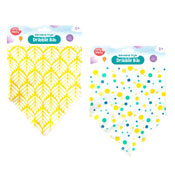 Baby Stylish Bandana Design Feeding Bib