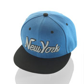 New York Snapback Baseball Caps Blue/Black