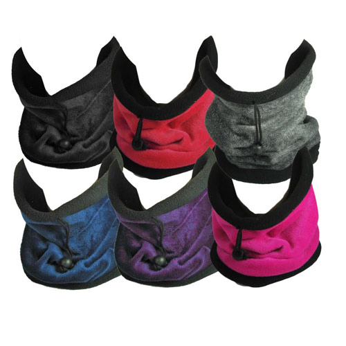 RockJock Knitted Snood/Hat with Microfibre Fleece Lining