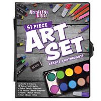 51 Piece Art Set In Colour Case