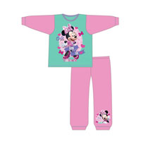 Girls Official Minnie Mouse Cute Pyjamas