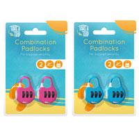 Combination Padlocks 2 Pack