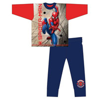 Boys Official Spiderman Pyjamas