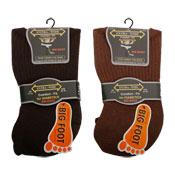 Big Foot Extra Wide Diabetic Mens Socks Assorted