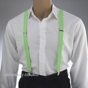 Neon Green Braces