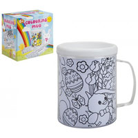 Colour Your Own Springtime Mug