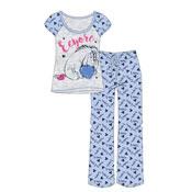 Ladies Eeyore Winnie The Pooh Pyjama Set