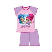Girls Shimmer And Shine Shortie Pyjamas