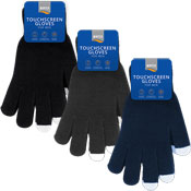 Mens Cosy Touchscreen Gloves