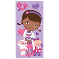 Official Disney Doc McStuffins Beach Towel