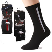 Mens Mixed Pattern Socks