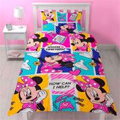 Minnie Mouse Attitude Reversible Duvet Single