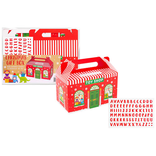 Christmas Gift Box Toy Shop