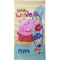 Official Peppa Pig Wave Beach Towel