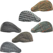 Assorted Design Unisex Flat Caps