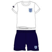 Boys Official England Shortie Pyjamas