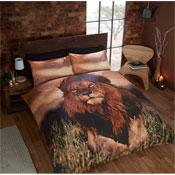 Aslan Lion Duvet Set Panel