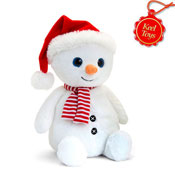 20cm Snowman With Hat & Scarf