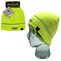 Heat Machine Hi Vis Knitted Beanie Hat