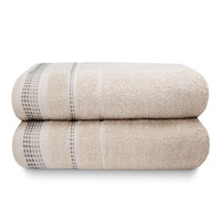 Berkley Luxury Cotton Bath Sheets Natural