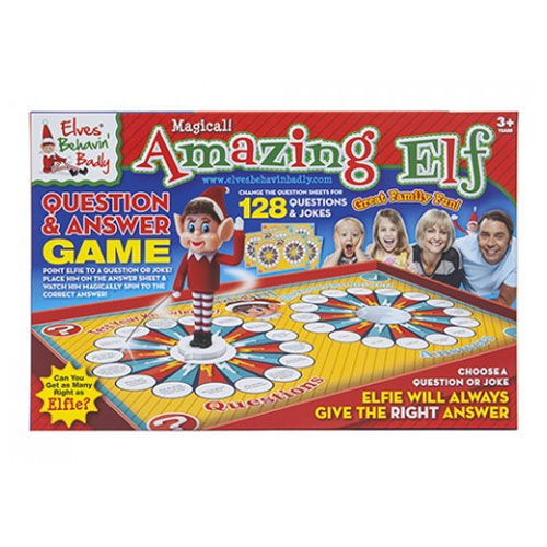 Elf Question & Answer Game