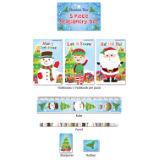 5 Piece Christmas Stationery Set