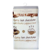 Coffee And Cakes Tea Towels 3 Pack
