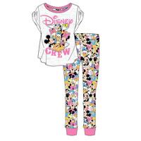 Official Ladies Minnie And Friends Pyjamas