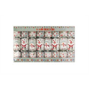 8 Mini Crackers Santa & Snowman