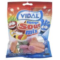 Mega Sour Mix Sweets 100g Bag