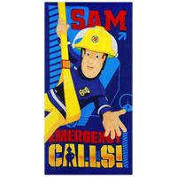 Official Fireman Sam Emergency Calls Beach Towel