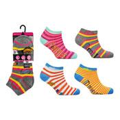 Ladies ProHike 3 Pack Trainer Socks Novelty Slogan