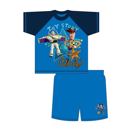 Boys Toddler Toy Story Shortie Pyjamas