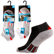 Mens Pro Hike Low Cut Cushion Trainer Socks