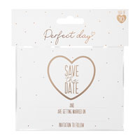 Save The Date Cards With Envelopes 10 Pack
