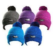 Rockjock Thermal Lined Bobble Hat