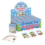 Mini Christmas Playing Cards